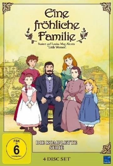 Fröhliche Familie