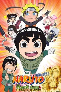 NARUTO Spin-Off Rock Lee & His Ninja Pals